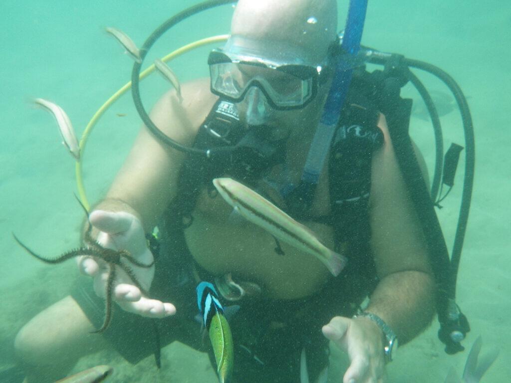 scuba diving in Puerto Rico